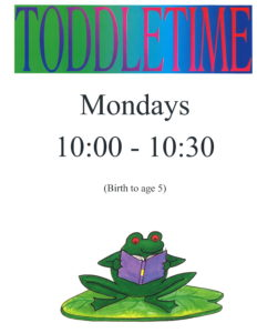 Toddle Time @ Garner Public Library