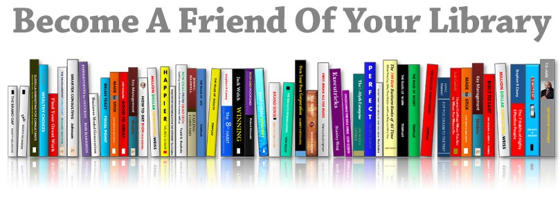 Become a friend of your Garner Public library