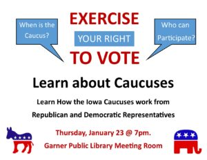 Learn about the Caucus